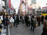 Street Scene, Shinjuku, Tokyo, Japan Photographic Print by Christian Kober