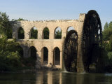 Water Wheel on the Orontes River, Hama, Syria, Middle East Photographic Print by Christian Kober