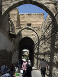 Arched Road, Damascus, Syria, Middle East Photographic Print by Christian Kober