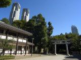 Metropolitan Government Buildings, Shinjuku, Tokyo, Honshu, Japan Photographic Print by Christian Kober