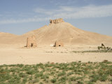 Qala'At Ibn Maan Citadel Castle, Archaelogical Ruins, Palmyra, Syria, Middle East Photographic Print by Christian Kober