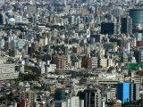 City Skyline, Shinjuku, Tokyo, Honshu, Japan Photographic Print by Christian Kober