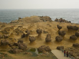Coastal Rock Formations, Yehliu, Taipei County, Taiwan Photographic Print by Christian Kober