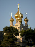 Russian Orthodox Church of Mary Magdalene, Mount of Olives, Jerusalem, Israel, Middle East Photographic Print by Christian Kober