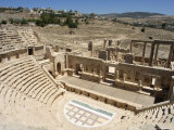 North Theatre, Roman City, Jerash, Jordan, Middle East Photographic Print by Christian Kober