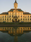 City Hall, Dating from 1799, Designed by Istvan Vedres and Janes Schwortz, Szeged, Hungary Photographic Print by Christian Kober