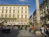 The Piazza Della Republica, Florence, Tuscany, Italy Photographic Print by Christian Kober