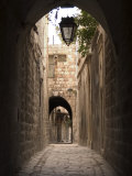 Arched Streets of Old Town Al-Jdeida, Aleppo (Haleb), Syria, Middle East Photographic Print by Christian Kober