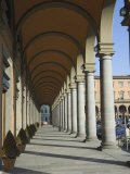 Arches and Columns in Piazza Della Liberta, Florence, Tuscany, Italy Photographic Print by Christian Kober