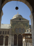 Umayyad Mosque, Unesco World Heritage Site, Damascus, Syria, Middle East Photographic Print by Christian Kober