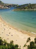 Lekeitio Beach, Basque Country, Euskadi, Spain Photographie par Christian Kober