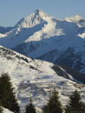 Mayrhofen Ski Resort, Zillertal Valley, Austrian Tyrol, Austria Papier Photo par Christian Kober