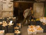 Fruit Seller, Tripoli, Lebanon, Middle East Photographic Print by Christian Kober