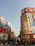 Street Scene, Shinjuku, Tokyo, Honshu, Japan Photographic Print by Christian Kober
