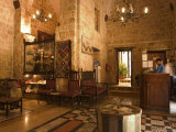 Reception Area, Beit Al-Wakil Hotel, Aleppo (Haleb), Syria, Middle East Photographic Print by Christian Kober