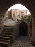 Archway in Krak Des Chevaliers Castle (Qala'At Al-Hosn), Syria, Middle East Photographic Print by Christian Kober
