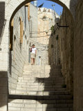 Old Walled City, Jerusalem, Israel, Middle East Photographic Print by Christian Kober