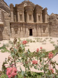 The Monastery, Petra, Unesco World Heritage Site, Wadi Musa (Mousa), Jordan, Middle East Photographic Print by Christian Kober