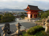 Kiyomizu Dera Temple, Unesco World Heritage Site, Kyoto City, Honshu, Japan Photographic Print by Christian Kober