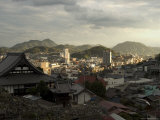 Onomichi Town, Hiroshima Prefecture, Honshu, Japan Photographic Print by Christian Kober