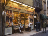 Food Shop, Verona, Veneto, Italy Photographic Print by Christian Kober