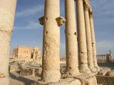 Temple of Bel, Archaelogical Ruins, Palmyra, Unesco World Heritage Site, Syria, Middle East Photographic Print by Christian Kober