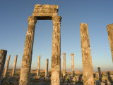 Archaelogical Site, Apamea (Qalat at Al-Mudiq), Syria, Middle East Photographic Print by Christian Kober
