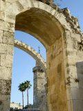 Arch of the Hurva Synagogue, Old Walled City, Jerusalem, Israel, Middle East Photographic Print by Christian Kober