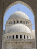 Mosque, Aleppo (Haleb), Syria, Middle East Photographic Print by Christian Kober