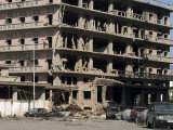 Car Bomb Devastation, Beirut, Lebanon, Middle East Photographic Print by Christian Kober