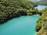 Turquoise Lakes, Plitvice Lakes National Park, Unesco World Heritage Site, Croatia Photographic Print by Christian Kober