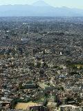 Mount Fuji, Shinjuku, City Skyline, Shinjuku, Tokyo, Honshu, Japan Photographic Print by Christian Kober