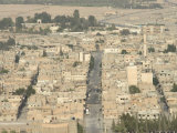 Hill Top View of City, Palmyra, Syria, Middle East Photographic Print by Christian Kober