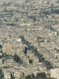 Aerial View of City, Damascus, Syria, Middle East Photographic Print by Christian Kober