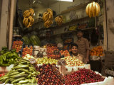 Fruit and Vegetable Market, Hama, Syria, Middle East Photographic Print by Christian Kober