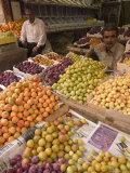 Fruit and Vegetable Market, Amman, Jordan, Middle East Photographic Print by Christian Kober
