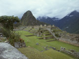 Inca Archaeological Site of Machu Picchu, Unesco World Heritage Site, Peru, South America Photographic Print by Oliviero Olivieri