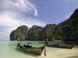 Maya Bay, Phi Phi Lay Island, Thailand, Southeast Asia Photographic Print by Sergio Pitamitz