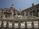 Pretoria Fountain, Palermo, Sicily, Italy Photographic Print by Oliviero Olivieri