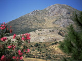 View from Mycenae, Peloponnese, Greece Photographic Print by Oliviero Olivieri