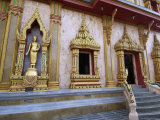 Wat Chalong Temple, Phuket, Thailand, Southeast Asia Photographic Print by Sergio Pitamitz