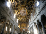 Interior of the Church of San Clemente, Rome, Lazio, Italy Photographic Print by Oliviero Olivieri