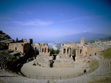 Taormina, Island of Sicily, Italy, Mediterranean Photographic Print by Oliviero Olivieri