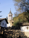 Tower of Holy Archangel and Michael Church Dating from 1861, Dryanovo Monastery, Dryanovo, Bulgaria Photographic Print by Richard Nebesky