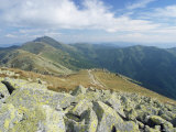 Dumbier Ridge Dominated by Dumbier Peak, 2043M, in Low Tatry, Nizke Tatry, Zilina Region, Slovakia Photographic Print by Richard Nebesky