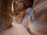 The Siq, Petra, Unesco World Heritage Site, Jordan, Middle East Photographic Print by Sergio Pitamitz