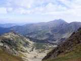 Siroka Valley Dominated by Dumbier Peak, 2043M, in Low Tatry, Nizke Tatry, Zilina Region, Slovakia Photographic Print by Richard Nebesky