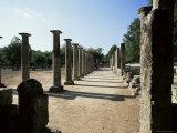 Olympia, Unesco World Heritage Site, Greece Lámina fotográfica por Oliviero Olivieri