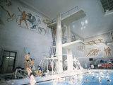 The Duce Pool, Rome, Lazio, Italy Photographic Print by Oliviero Olivieri