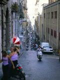 Naples, Campania, Italy Fotografisk tryk af Oliviero Olivieri